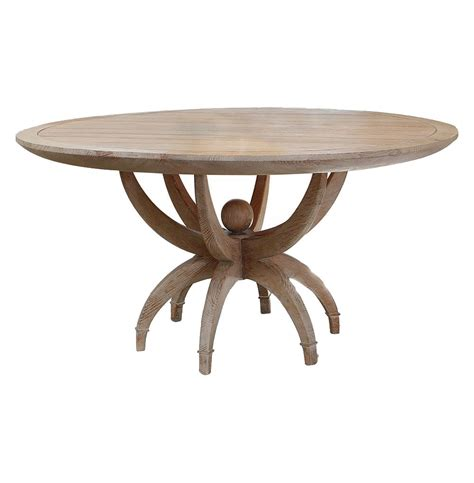 atticus coastal white oak contemporary dining
