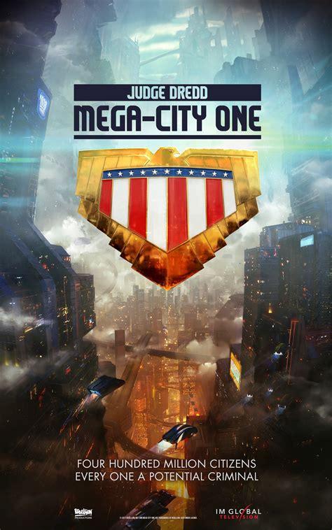 Tv V One judge dredd mega city one tv show announced ign