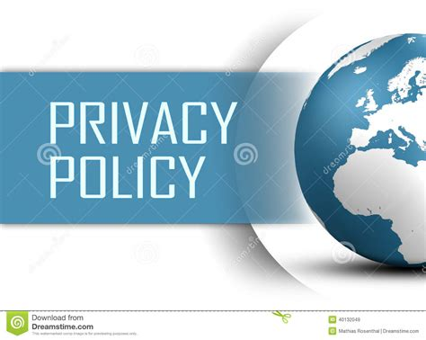 privacy policy the earth times privacy policy stock photography cartoondealer com 42994958