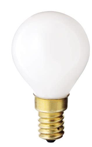 Gas L Filament by 32 Satco S3398 130v E14 Base 40 Watt G14 Light Bulb Gloss White