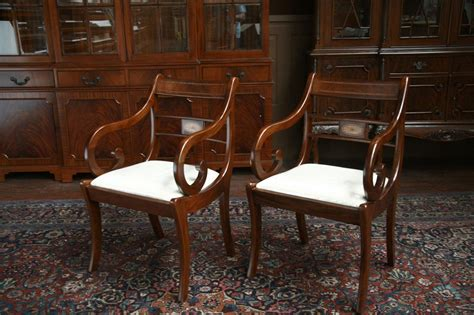 Duncan Phyfe Dining Room Chairs Duncan Phyfe Dining Chairs Duncan Phyfe Dining Room Chairs Pair Of Arms