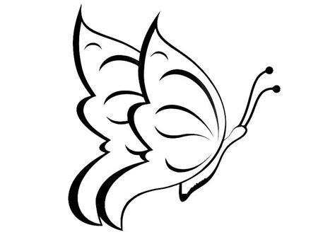 imagenes de mariposas animadas para dibujar dibujo para colorear mariposa img 20668