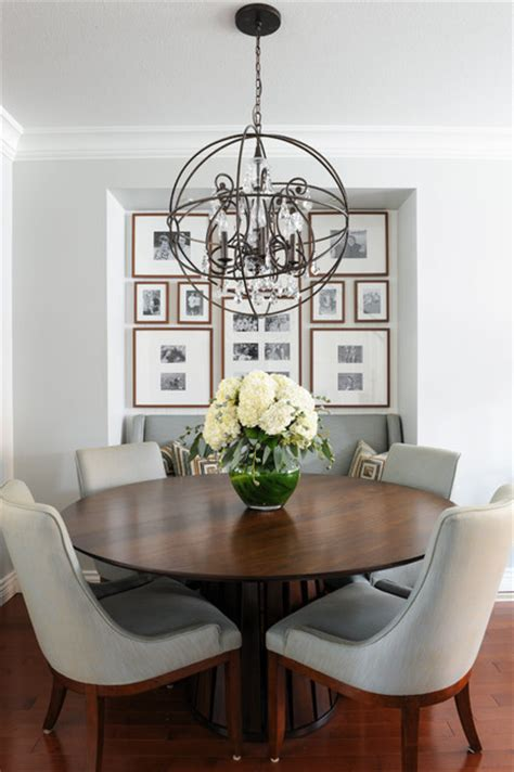 serene family home transitional dining room