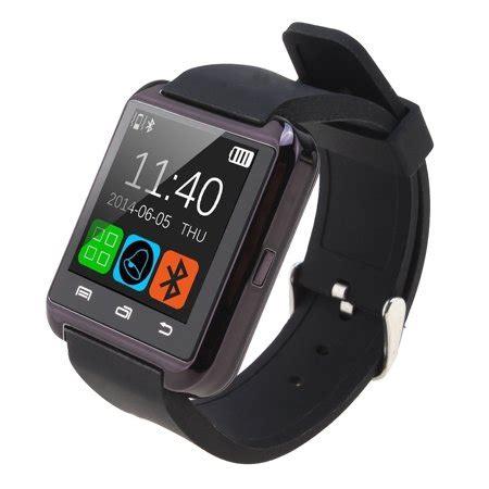 agptek black u8 bluetooth smart wrist watch phone mate for