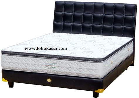 Bed Bigland Silver Plus Top 180x200 Kasur Only bigland springbed kasur big land murah promo superman