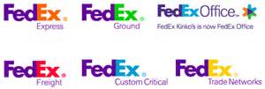 fedex colors fedex and the diverend fedex logos
