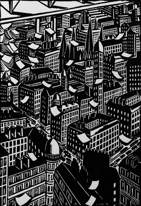 The City (1925): A Timeless Novel In Woodcuts - Flashbak