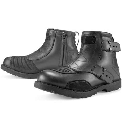 best motorcycle footwear icon 1000 el bajo motorcycle boots best reviews on icon