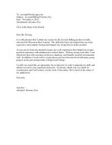 how to make cover letter sle how to write a cover letter scientific journal letter