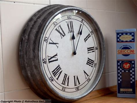 horloge d馗orative cuisine horloge decoration cuisine id 233 es de design maison et