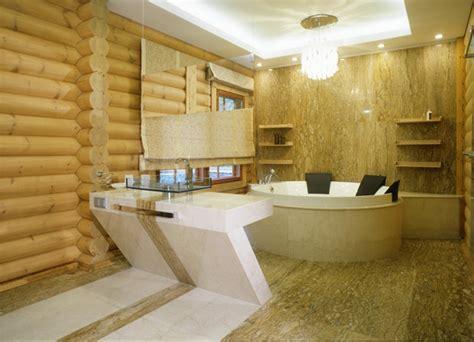 Modern Log Home Interiors Modern Log Cabin Interior Design
