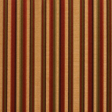 Striped Silk Fabric For Curtains Burgundy Gold Green Shiny Thin Striped Faux Silk Upholstery Fabric By The Yard Traditional