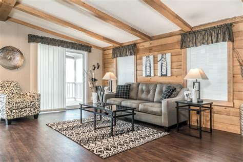 family room with a double wide mobile home floor plans 3 double wide mobile home 24 x 40 36 village homes