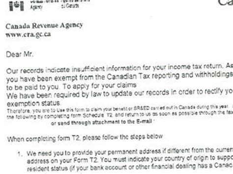 Rent Letter For Cra Don T Fall For Cra Calls Emails