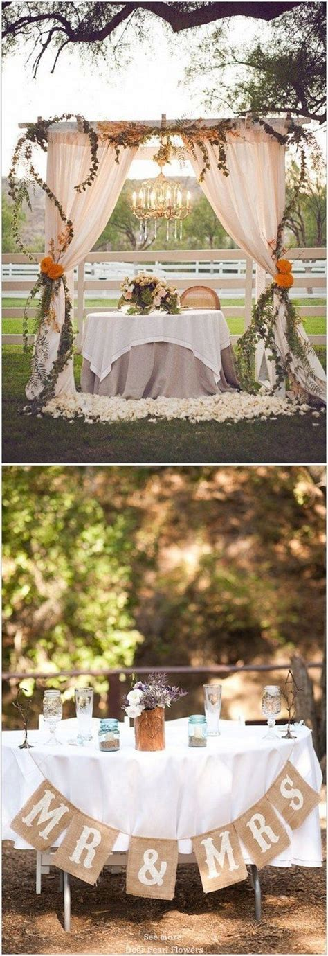 Rustic Country best 25 sweetheart table decor ideas on pinterest