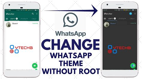 whatsapp themes root how to change whatsapp theme without root easily on any