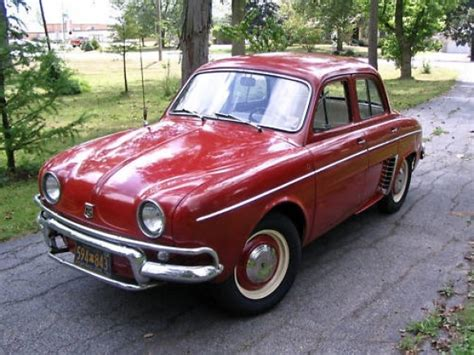 renault dauphine for sale stored 34 years 1964 renault dauphine bring a trailer
