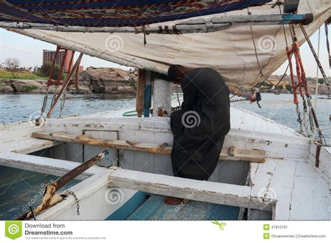 is north river boats still in business stock image muslim boatman of the nile in luxor egypt at