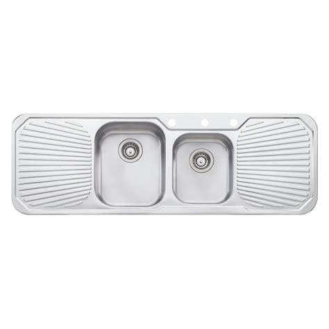 Oliveri 1430mm 1 75 Centre Petite Sink Bunnings Warehouse Oliveri Kitchen Sinks