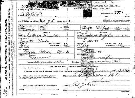 Birth Records Hamilton County Ohio Birth Certificate Hamilton County Image Collections