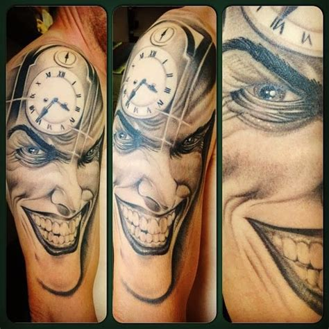 joker tattoo sleeve designs new hairstyle 2014 half sleeve half sleeve