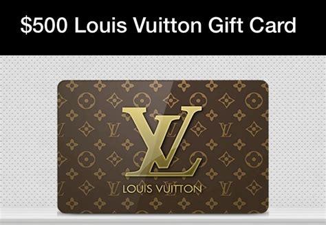 Lv Gift Card - want a free louis vuitton 500 gift card see how trusper