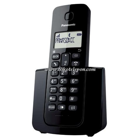 Panasonic Kx Tgb110 Telpon Wireless Cordless Phone 1 jual panasonic cordless wireless telepon kx tgb110