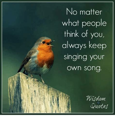 no time to spare thinking about what matters books no matter what think of you always keep singing