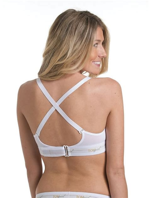 Bra Bralette Bh Fibw White 38a white bralette bra with velcro r brand back closure