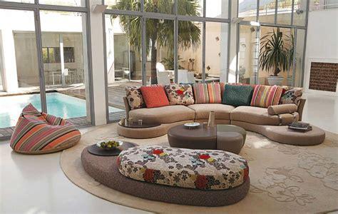 Living Room Inspiration: 120 Modern Sofas by Roche Bobois
