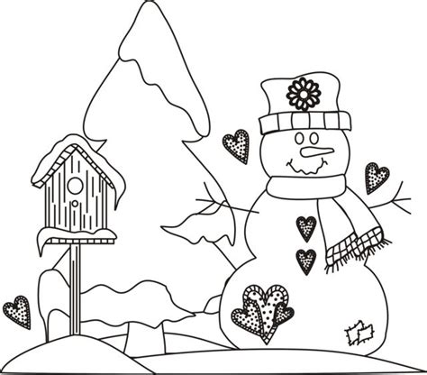 snowman scene coloring page 1000 images about coloring pages on pinterest christmas