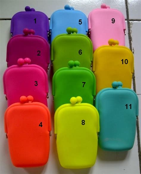 Dompet Jelly Dompet Jelly Hp Micha Shop