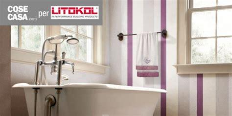 pareti bagno senza piastrelle in bagno d 233 cor a parete senza le piastrelle e contenendo