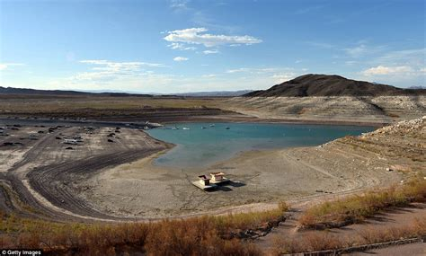boat slip cost lake mead fourteen year drought leaves lake mead at all time low