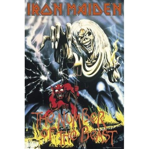 Plakat Iron Maiden by Iron Maiden Number Of The Beast Maxi Poster 61 Cm X