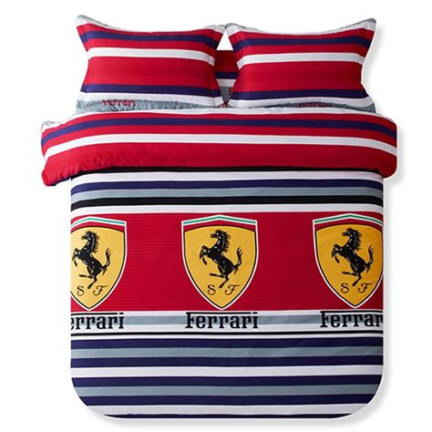 Duvet And Comforter Ferrari Bedding