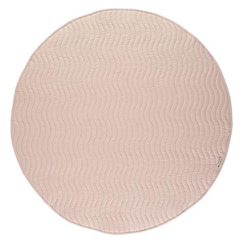 rosa runder teppich runder teppich kiowa line hellrosa nobodinoz