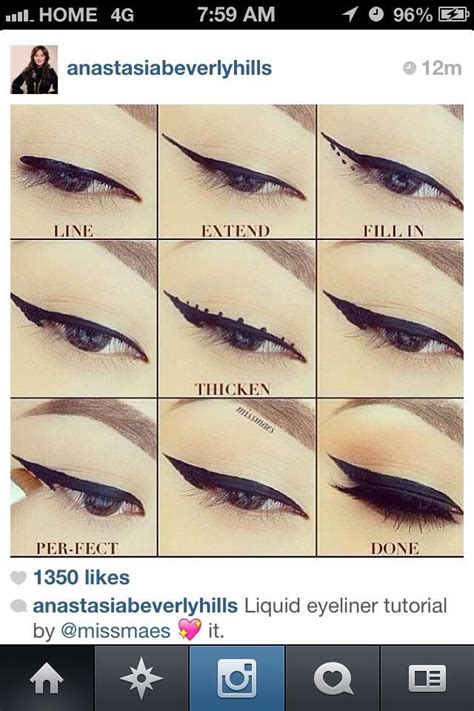 eyeliner types tutorial tutorial for different types off eyeliner designs musely