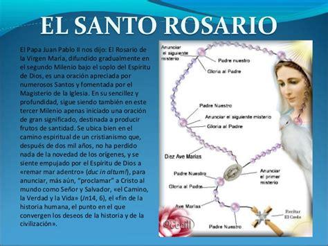 como rezar el santo rosario new advent como rezar el rosario slideshare newhairstylesformen2014 com