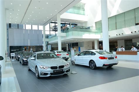 bmw showroom bmw puts the in showroom