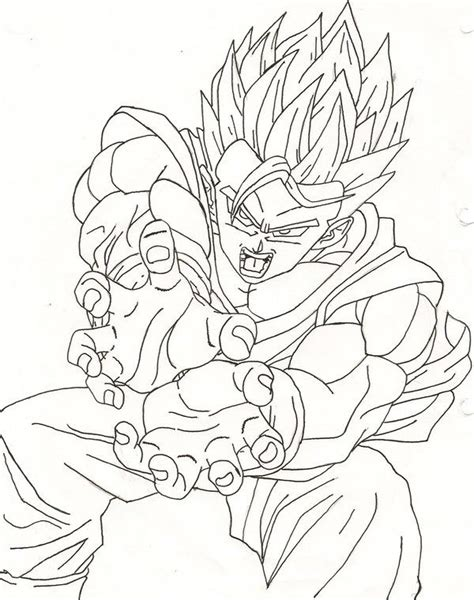 dragon ball  coloring pages images  pinterest