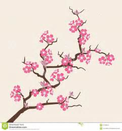 Wedding Backdrop Graphic Card With Stylized Cherry Blossom Flowers Stock Vector Image 51108074