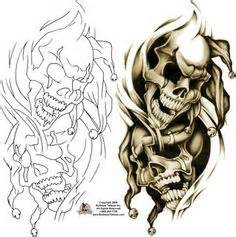 Laugh Now Cry Later Tattoos Outline by Gt Gt Gt Best Evil Skull Style And Smoke Skulls Mini Cases Evil Skull