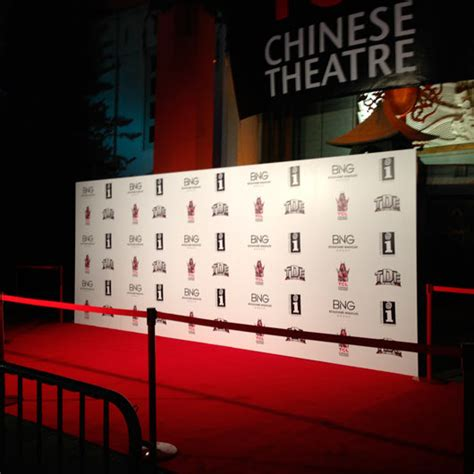 design red carpet backdrop los angeles event production step and repeat red carpet