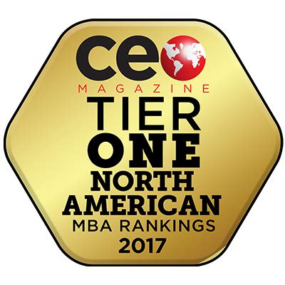 National Mba Rankings by About National Recognition