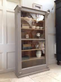 Antique Pine Display Cabinet Antique Pine Style Glazed Display Cabinet Painted