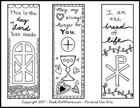 printable religious bookmarks to color free color your own printable religious bookmarks for