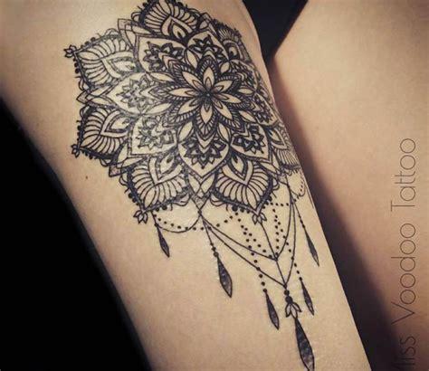 mandala tattoo artist in la jewelry mandala tattoo by miss voodoo tattoo detail