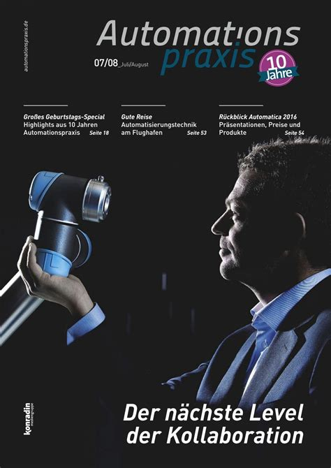 Roboter Rasenmä Preise 548 by Automations Praxis Der Nachste Level Der Kollaboration