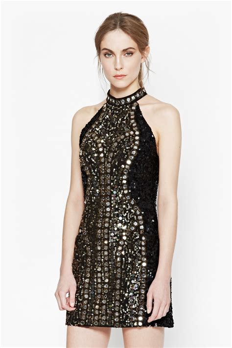 Dress Sequen embellished sequin dress collections connection